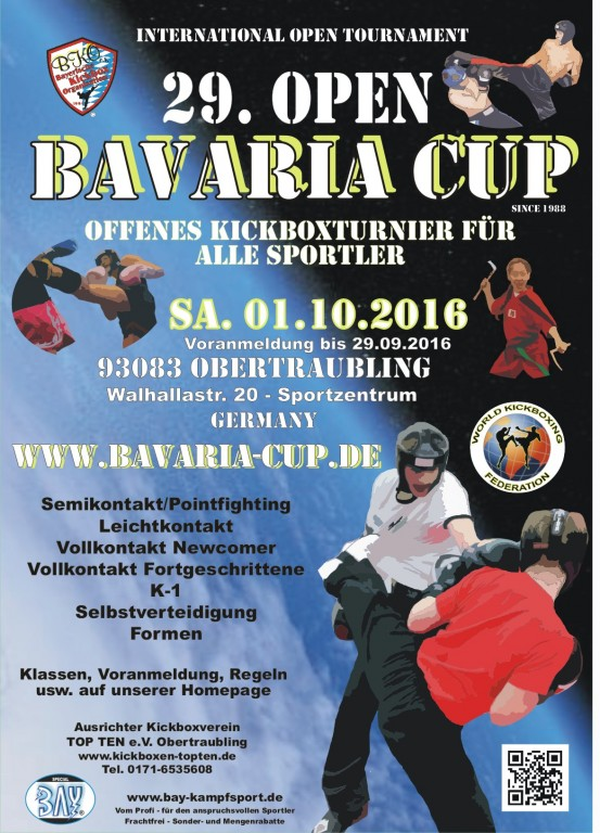 Open Bavaria Cup 2016 WKF